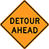 Detour Ahead Signs For Rent Houston Barricades Cones TMA Stop Signs