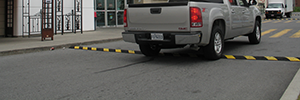 Rubber Speed Bumps Houston Parking Signs Plastic Bollard Covers