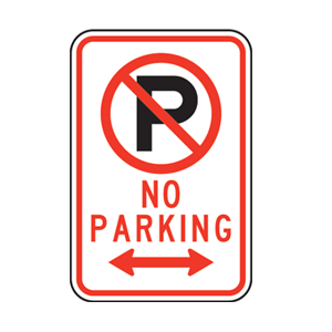 no parking sign houston reserved parking signs handicap signs valet only signs