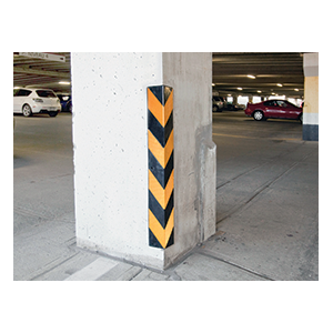 Rubber Corner Protectors Corner Guard Parking Lot Safety Products Houston