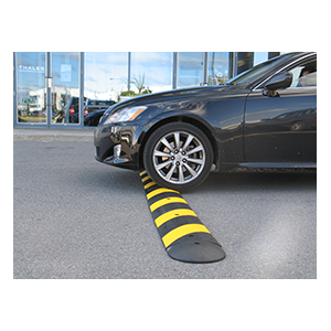buy rubber speed bumps houston road humps car stops rubber parking lot curbs houston